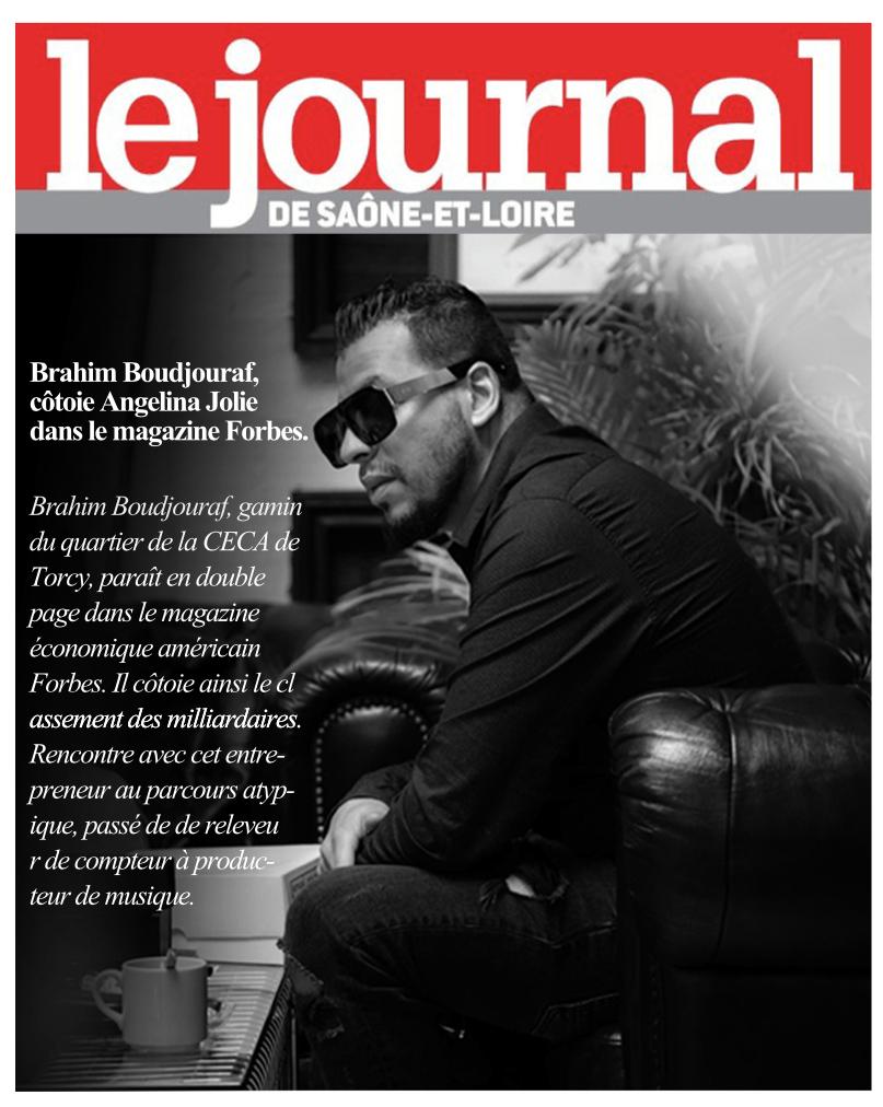 Brahim Boudjouraf dans le journal de saône et loire JSL
